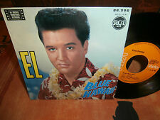 "elvis presley""blue hawaii""ep7""du12/68.fr.rca victor.biem:86305.label orange rare"