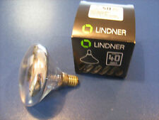 ELDEA Kuppenverspiegelt Silber LINDNER Wagenfeld E14 40W NEU Designerlampe