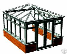 UPVC HIP BACK EDWARDIAN CONSERVATORY 3.6 X 4.1 EXT SIZE