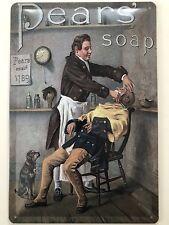 Blechschild 30 X 20 cm Vintage Werbung - Pear's Soap