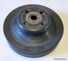 1971-79 Pontiac V8 2-Groove Water Pump Pulley #481040 A/C Pwr Steering