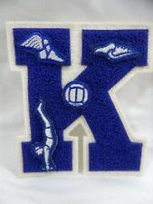 Vintage High School Varsity Letter K Track Swimming Basketball Gymnastics Patch