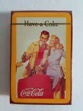 VTG Coca Cola Playing Cards Vintage HAVE A COKE Bridge - Sealed