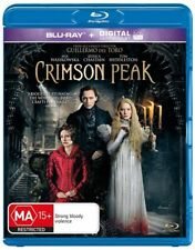 Crimson Peak (Blu-ray, 2016) - BRAND NEW & SEALED