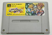SONIC BLAST MAN II 2 SNES TAITO Nintendo Super Famicom Japan USED