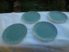4 X ROYAL DOULTON  SIDE / TEA PLATES - QUEENSLACE  - D6447