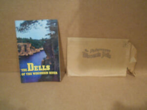 HH Bennett Photograph The Dells of the Wisconsin River 32 page Booklet from 1945