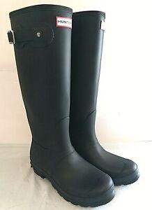 Hunter Women's Original Tall Rain Boots - SIZE 7, 8, 9, 10 - BLACK - 1C_12a