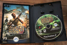 Medal Of Honor Rising Sun PS2 Playstation 2 Game Complete Tested