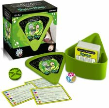 Winning Moves Rick and Morty Bitesize Trivial Pursuit Game