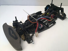TAMIYA TA02 Carbon Upper Deck Contrôle Radio RC voiture + moteur + Servos