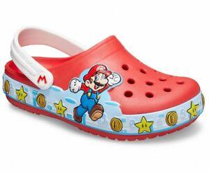 CROCS Super Mario Limited Edition KIDS NEW