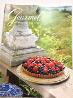 Gourmet Magazine Famous Blueberry Cheesecake July 1992 010517R