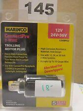 2 wire trolling motor plug 12v/24v/36v