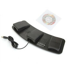 FS3-P USB Triple Foot Switch Pedal Control Keyboard Mouse Plastic SY