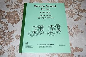 Professional Service Manual on CD for Singer 5102 5107 5123 5127 Sewing Machines