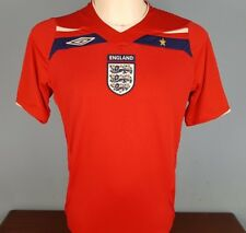 Authentic England 2008 - 2010 Away Shirt Size Medium World Cup 2018 (038)