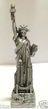 "4"" Statue of Liberty Figurine w.Flag Base Souvenir from New York City SKYLines"