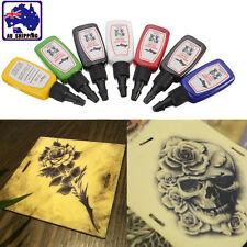 7 Color 1/2 oz (15ml) Tattoo Ink For Practice Bottled Pigment Paint JTAC71407