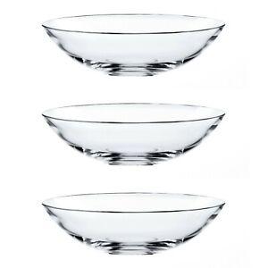 Nachtmann 0081462-0 Vivendi Glas Schale, Ø 17 cm, klar (3 Stück)