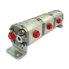 Geared Hydraulic Flow Divider 3 Way Valve 25ccrev Without Centre Inlet