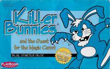 Killer Bunnies Quest f/t Magic Carrot Blue Starter Deck Card Game 2002 Complete