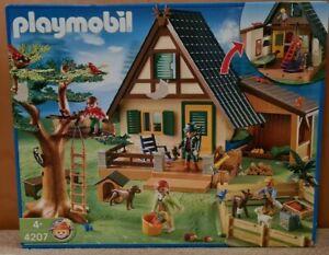 Playmobil 4207 Forsthaus mit Tierpflegestation                   NEU & OVP !!!