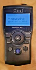 Nti Audio Minirator Mr2 Handheld Audio Tone Generator