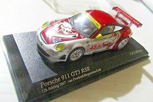 MINICHAMPS 1:64 SCALE~ 640076445 PORSCHE 911 GTS RSR - LONG BEACH GP 2007 SIGNED