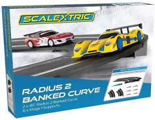 Scalextric Radius 2 Banked Curve 1/32 Slot Car Track C8296