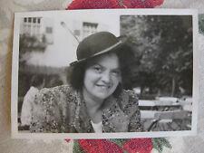Vintage Photo Allemagne Germany Wildbad 1939 visage femme amusant snapshot