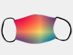 Rainbow Vision Adjustable Face Mask with 2 x PM2.5 Filters