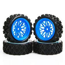 PP0487+BBB 1/10 RC Rally Racing Off Road Car Rubber Tyre Wheel Hub Set(4pcs)