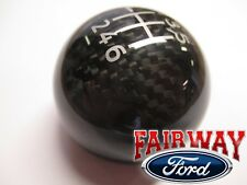 15 thru 20 Mustang OEM Genuine Ford Parts Carbon Fiber 6-speed Gear Shift Knob