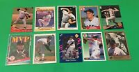 Roger Clemens 10 Card Lot Leaf Fleer Topps Score Upper Deck Classic Red Sox