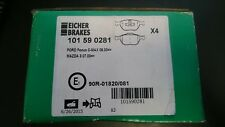 Eicher Front Brake Pads Ford Focus CMAX and Mazda 3