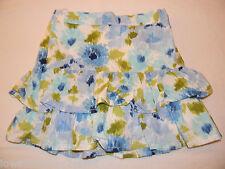 Gymboree MALIBU COWGIRLS Floral Watercolor Ruffle Skirt 6