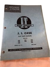 J I Case Implement Amp Tractor Shop Service Repair Series 730 830 930 1030