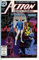 Action Comics 612 DC 1988 NM- Superman Black Canary Green Lantern Nightwing