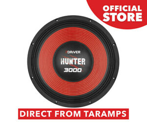 """7Driver 15"""" HUNTER 3000 4 Ohm Speaker 1500W RMS by Taramps Direct From Taramps"""