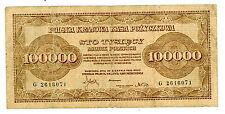 Poland … P-34a … 100,000 Marek … 1923 … *F*