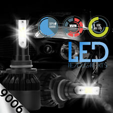 2018 Philips LED Headlight Conversion Kit 9006 HB4 Light Bulbs Pair Replace HID