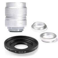 Fujian 25mm F1.4 C Mount CCTV Movie lens for Canon EOS M M2 M3 Mirrorless Camera