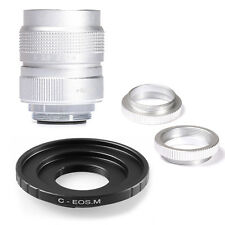Fujian 25mm F1.4 C Mount CCTV Movie lens for Canon EOS M M2 M3 Mirrorless Camera
