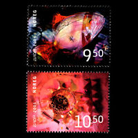 Norway 2005 - EUROPA Stamps - Gastronomy - Sc 1444/5 MNH