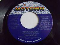 Diana Ross Upside Down / Friend To Friend 45 1980 Motown Chic Vinyl Record