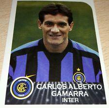 AGGIORNAMENTO FIGURINE CALCIATORI PANINI 2002/03 INTER GAMARRA ALBUM