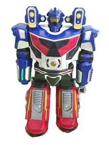 "Robot Walking Talking Flashing Light Sound Effects Toy 14"" Big Children's Toy"