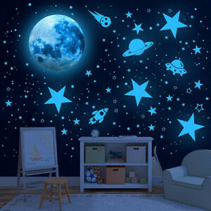 (Sky Blue) - Glowing Stars for Ceiling, 1008 PCS Glow in The Dark Stars,Space