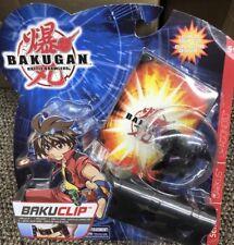 NEW Bakugan BakuClip FEAR RIPPER Series 1 ~Black Darkus Clip Battle Brawlers.
